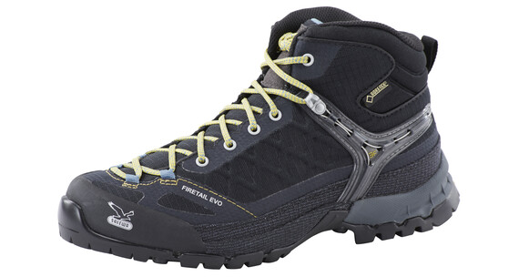Salewa Firetail EVO Mid GTX Approach Shoes Women black/gneiss